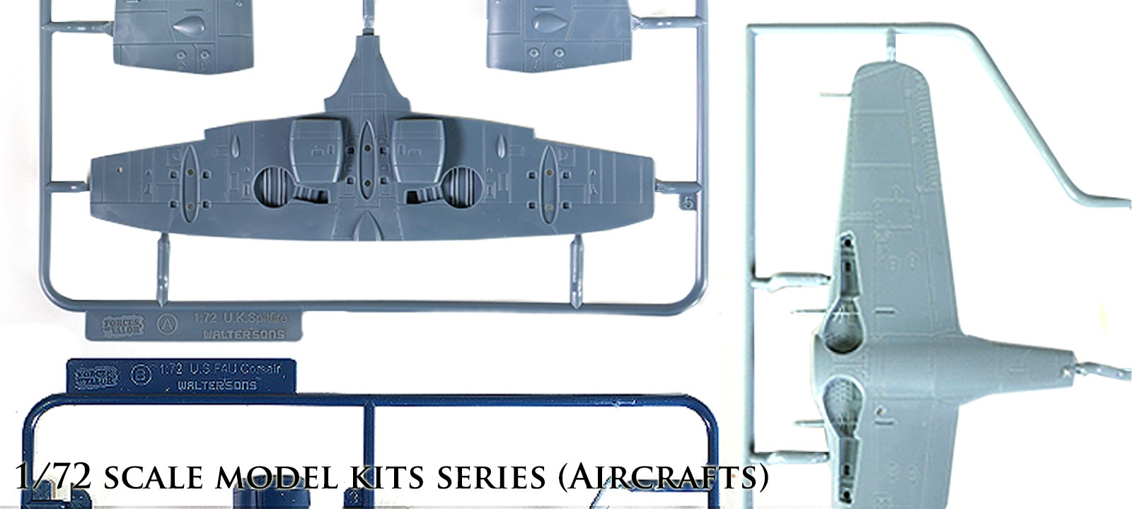 72nd scale model kits series (Aircrafts)